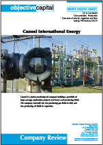 Read report on Canoel International Energy (CIL.V) - building a portfolio in undervalued Italian gas